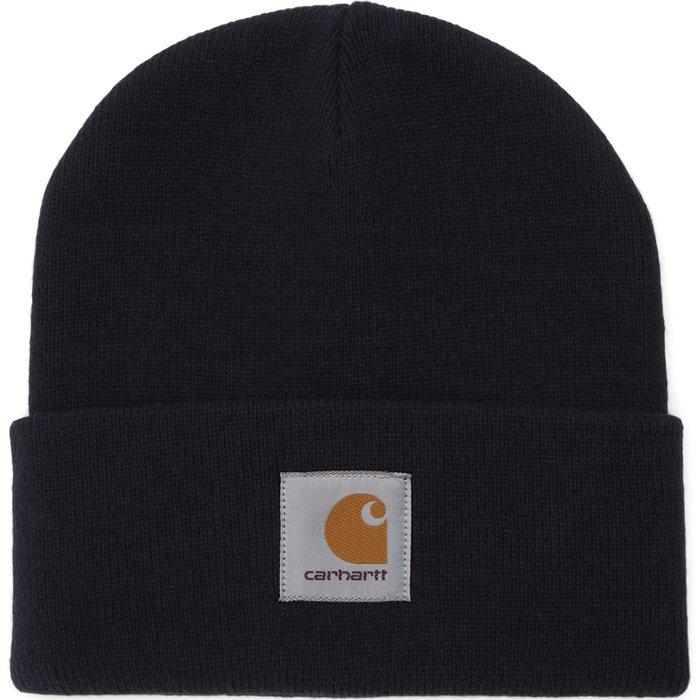 Short Watch Hat - Huer - Blå